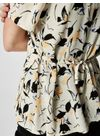 Selected Femme - Blouse - Flori Wrap Top - Sand Dollar