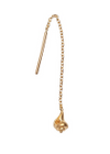 Stine A - Earrings - Dangling Petit Conque Earring - Gold