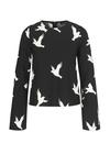 Stine Goya - Blouse - Blair - Doves Black