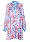 Stine Goya - Dress - Jasmine SS20 - Jungle Scene Pink