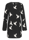 Stine Goya - Dress - Atwood - Doves Black
