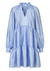Stine Goya - Dress - Jasmine Textured - Sky Blue