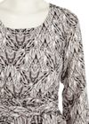 Style Butler - Dress - Elsa - Grey Print