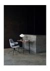 &tradition - Desk - Palette Table / JH9 - JH9 - Brass / Walnut Veneer