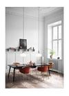 &tradition - Chair - Elefy / JH28 - Black / Brass