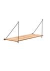 WeDoWood - Shelf - Loop Shelf - Black and Bamboo
