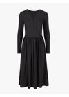 Y.A.S - Dress - Lunia LS Dress - Dark Sapphire/Stripes