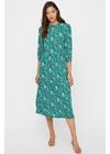 Y.A.S - Dress - YASgreenish Long Dress - Ultramarine Green