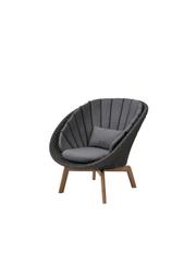 Frame: Cane-line Soft Rope, Dark Grey / Cushion: Cane-line Natté, Grey w/QuickDry Foam
