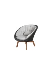 Frame: Cane-line Soft Rope, Dark Grey / Cushion: Selected PP, Light Grey