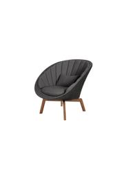 Frame: Cane-line Soft Rope, Dark Grey / Cushion: Selected PP, Dark Grey