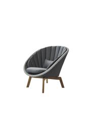 Frame: Cane-line Weave, Grey/Light Grey / Cushion: Cane-line Natté, Grey w/QuickDry Foam