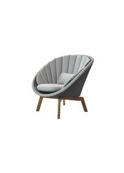 Frame: Cane-line Weave, Grey/Light Grey / Cushion: Cane-line Natté, Light Grey