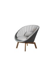 Frame: Cane-line Weave, Grey/Light Grey / Cushion: Selected PP, Light Grey