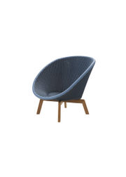 Frame: Cane-line Weave, Midnight/Dusty Blue