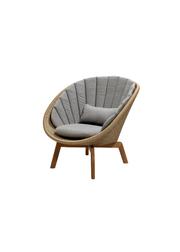 Frame: Cane-line Weave, Natural / Cushion: Cane-line Natté, Taupe