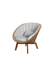 Frame: Cane-line Weave, Natural / Cushion: Selected PP, Light Grey