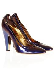 Purple w. Blue Heel (Utsolgt)