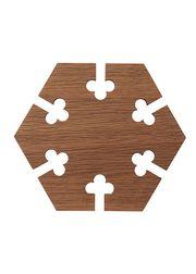 Hexagon - Oak