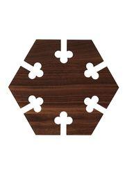 Hexagon - Walnut