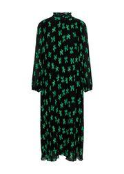 Black/Green Print