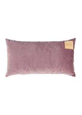 ABA - Design & Lliving - Pillow - A Velour - Light Plums 40x60