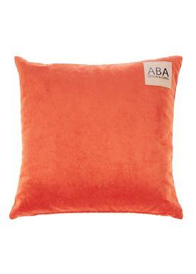 ABA - Design & Lliving - Pillow - A Velour - Burned Orange - 50x50