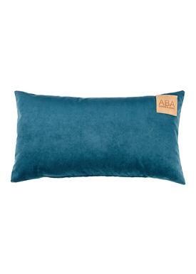 ABA - Design & Lliving - Pillow - A Velour - Petrolium - 40x60