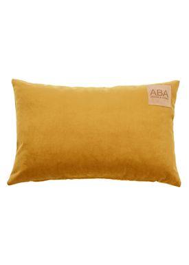 ABA - Design & Lliving - Pillow - A Velour - Mustard - 40x60