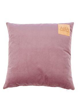 ABA - Design & Lliving - Pillow - A Velour - Light Plums 50x50