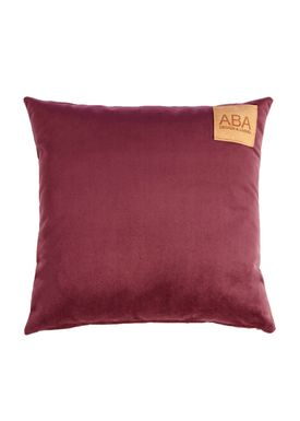 ABA - Design & Lliving - Cushion - A Velour - Dark Plum - 50x50