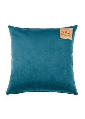 ABA - Design & Lliving - Cushion - A Velour - Petrolium - 50x50