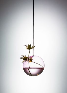 About Form and Function - Vase - Flower Bubbles - Medium - Rose