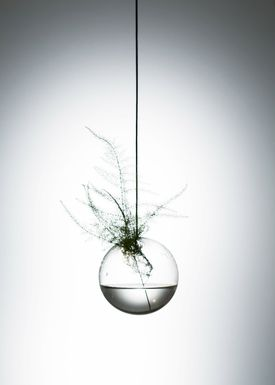 About Form and Function - Vase - Flower Bubbles - Small - Transparent
