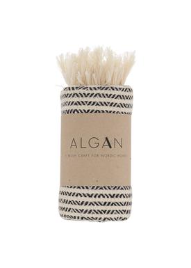 ALGAN - Handduk - Elmas-iki Guest towel - Black