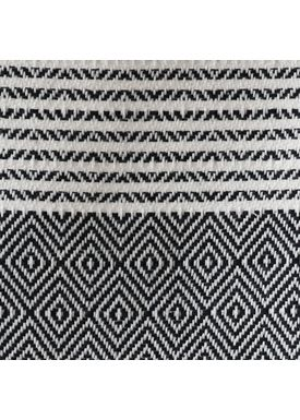 ALGAN - Handduk - Elmas-iki Hamam towel - Black