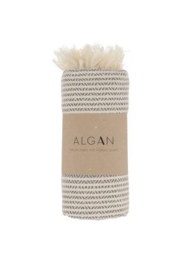 ALGAN - Handduk - Elmas-iki Hamam towel - Grey