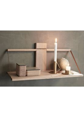 Andersen Furniture - Hylla - Wood Wall Shelf - Large - Oak