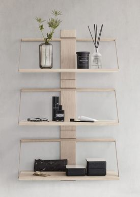Andersen Furniture - Hylla - Wood Wall Shelf - Small - Oak