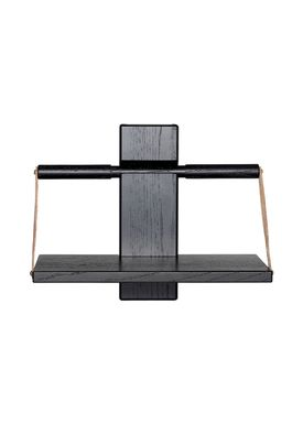 Andersen Furniture - Hylla - Wood Wall Shelf - Small - Black