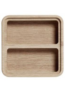 Andersen Furniture - Office - Create Me - Box Medium Oak 2 Compartments