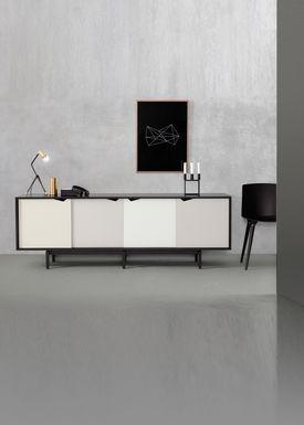 Andersen Furniture - Sideboard - S1 Sideboard - Oak / Black Stained