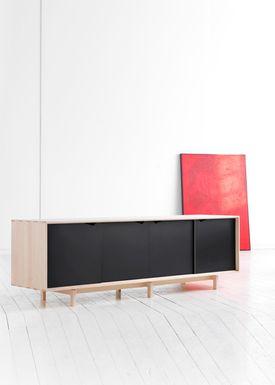 Andersen Furniture - Sideboard - S1 Sideboard - Ash / White Oil