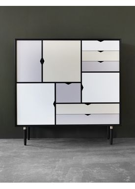 Andersen Furniture - Sideboard - S3 storage sideboard - W130 x D43 x H132 cm