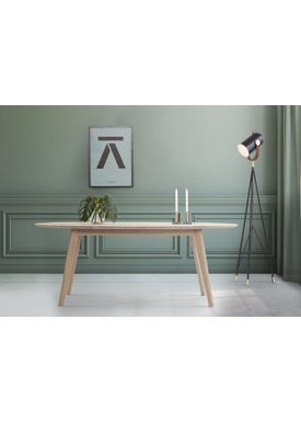Andersen Furniture - Dining Table - DK10 - Eg sæbebehandlet