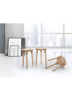 Andersen Furniture - Chair - U1 Stool - Ash