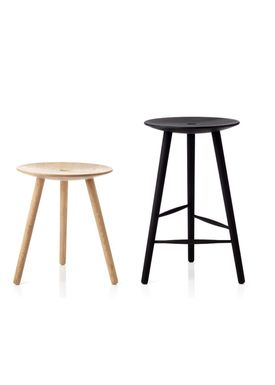Applicata - Chair - Di VOLO Stool - Stained Beech - 45 cm.