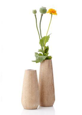 Applicata - Vase - Torso Vase - Large - Oiled Oak