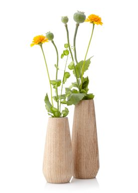Applicata - Vase - Torso Vase - Medium - Oiled Oak