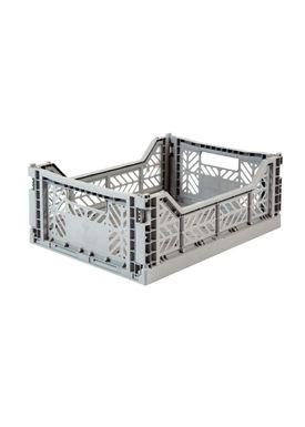 Aykasa - Boxes - Aykasa Foldable Boxes - Midi - Grey
